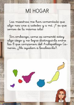 Interactive worksheet Mi Hogar Benito 1