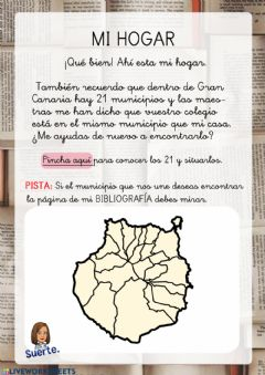 Interactive worksheet Mi Hogar Benito 2