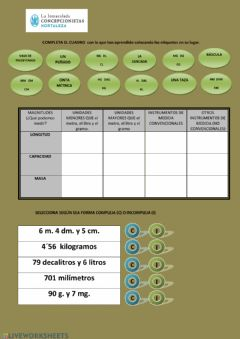 Interactive worksheet Tema 9 - ficha 3
