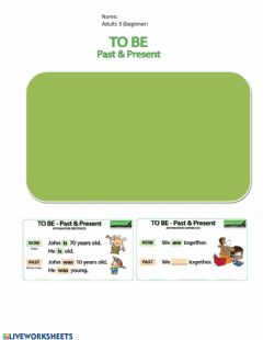 Interactive worksheet Past simple verb to be
