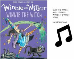 Interactive worksheet Winnie the witch song