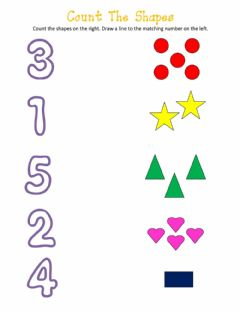 Interactive worksheet Numbers Pre-K