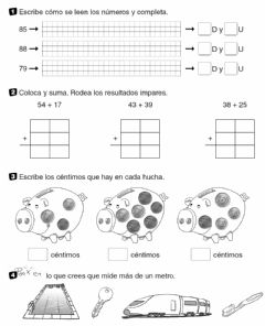 Interactive worksheet Refuerzo de Matemáticas