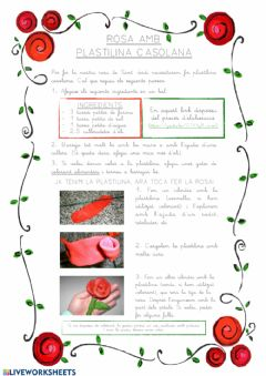 Interactive worksheet Sant Jordi