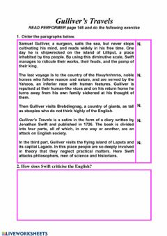 Interactive worksheet Swift - Performer exercise n. 2 page 145