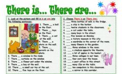 Interactive worksheet There are-is