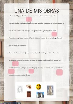 Interactive worksheet Mi obra Benito 3