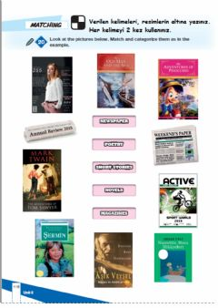 Interactive worksheet Bookworms page 116