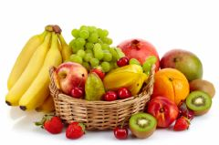 Interactive worksheet Fruit: listen and repeat