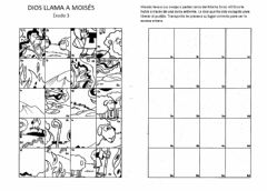 Interactive worksheet Moisés y la zarza ardiendo