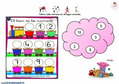 Interactive worksheet Forma la serie
