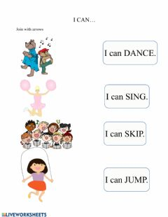 Interactive worksheet I can...