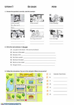 Interactive worksheet Revision 5º