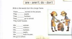 Interactive worksheet Are aren't do don't