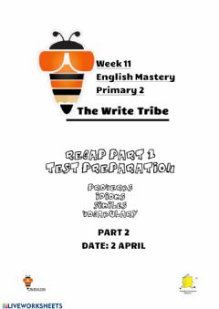 Interactive worksheet Week 11 e-learning p3-4 part 2