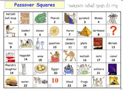 Interactive worksheet Passover - Match the picture
