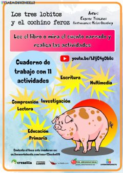 Interactive worksheet Los tres lobitos y el cochino feroz 1