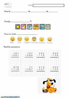 Interactive worksheet Rutina 17