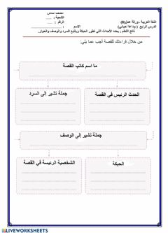 Interactive worksheet قراءة