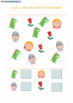 Interactive worksheet ST. George's Day