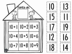 Interactive worksheet El numero 10