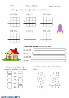 Interactive worksheet Activa tu mente2