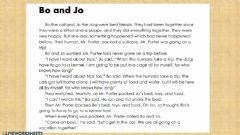 Interactive worksheet Bo and Jo (Story Sequence)