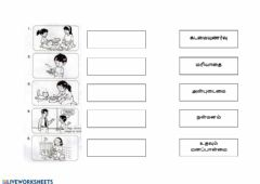 Interactive worksheet Moral Values