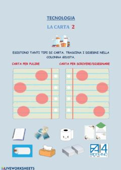 Interactive worksheet La carta-2