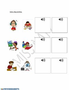 Interactive worksheet English verbs