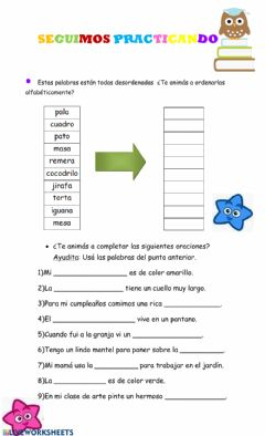 Interactive worksheet Pdl 2