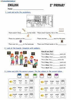 Interactive worksheet Review Units 1 and 2