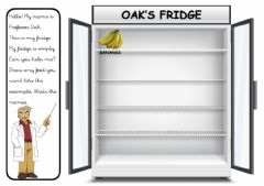 Interactive worksheet Fridge