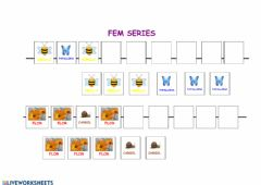 Interactive worksheet Fem series