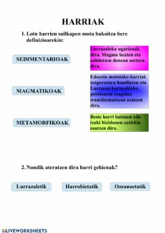 Interactive worksheet Harriak