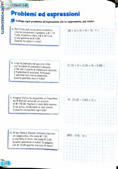 Interactive worksheet Espressioni con parentesi