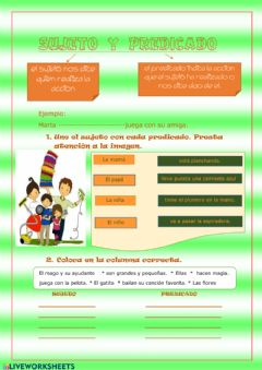 Interactive worksheet ¿Adivinas cuales son?