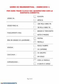 Interactive worksheet Maestra Francesca