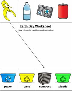Interactive worksheet Earth Day Worksheet