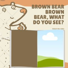 Ficha interactiva Brown bear brown bear