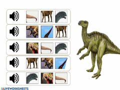 Interactive worksheet Listen and choose the correct picture