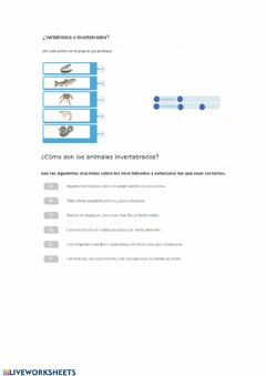 Interactive worksheet Tipos de rocas