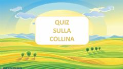 Interactive worksheet Quiz Collina