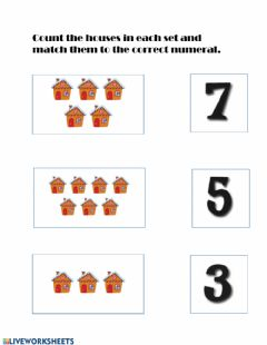 Interactive worksheet Counting objects