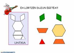Interactive worksheet UNTXIA GEOMETRIA