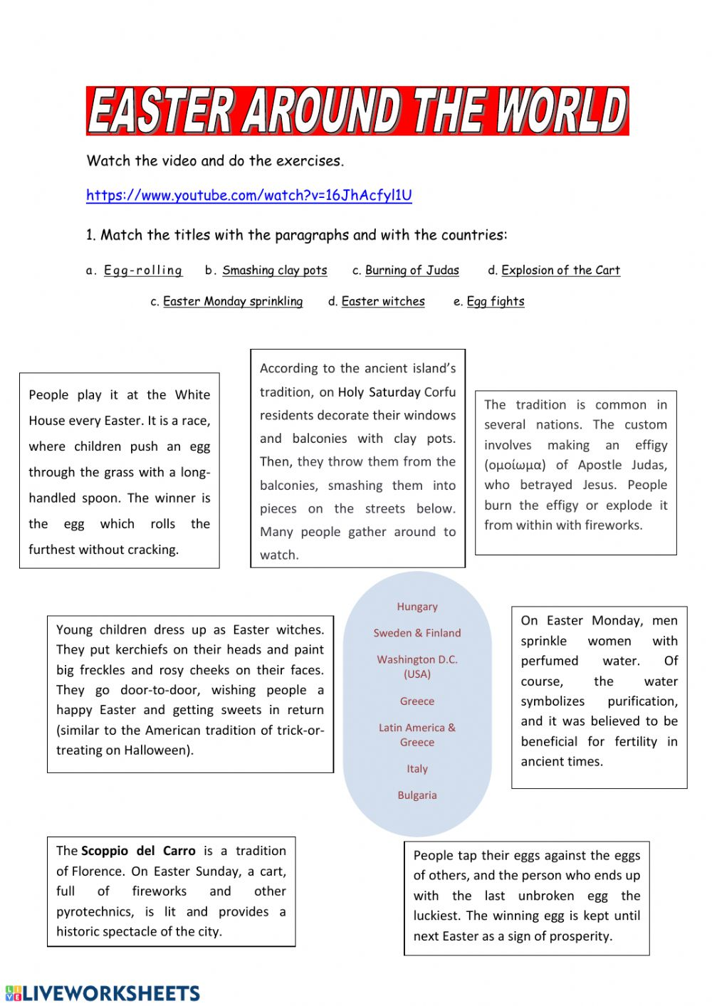 Read the text about easter and write a text about a russian holiday resume templates on word 2003