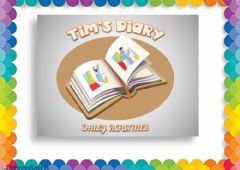 Interactive worksheet Daily Routines (Writing)