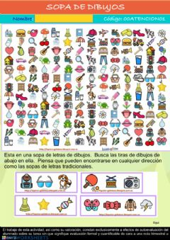 Interactive worksheet Sopa de dibujos