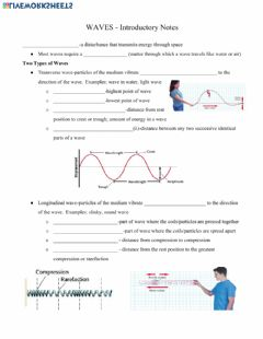 Interactive worksheet Intro to Waves