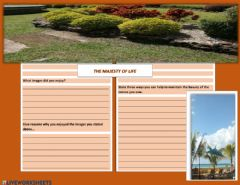 Interactive worksheet The Majesty of life